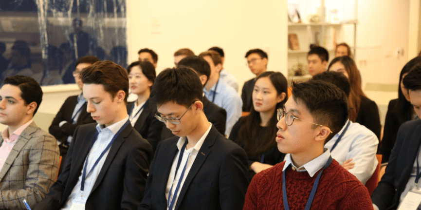Students at Global Case Competition