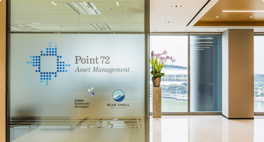Point72 Singapore office entrance